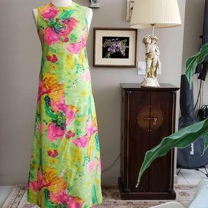 Vintage HANDMADE🌺🌺🌺💝 beautiful DRESS